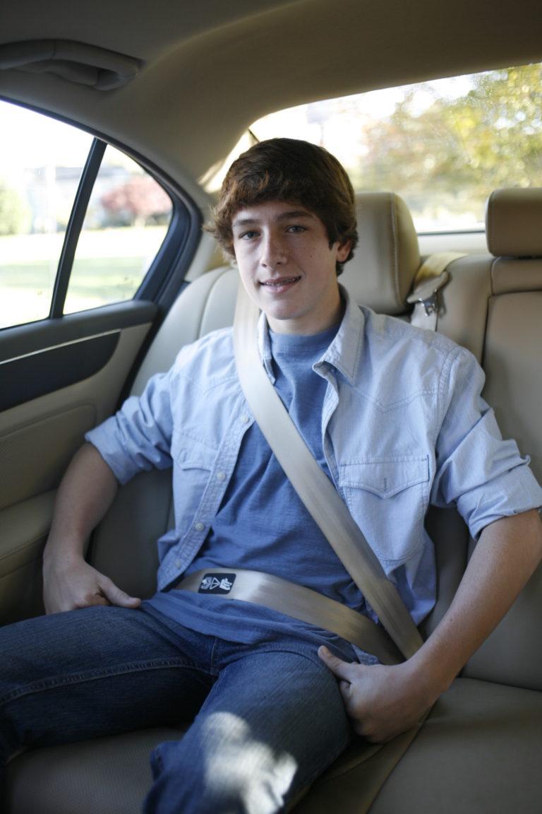 Child in Seatbelt